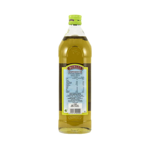 Grapeseed Oil Borges 1L - LimSiangHuat
