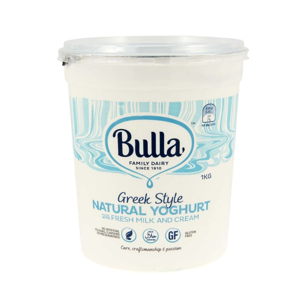 Greek Style Natural Yoghurt Bulla 1kg - LimSiangHuat