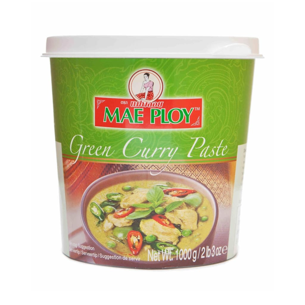 Green Curry Paste Mae Ploy 1Kg Sauce