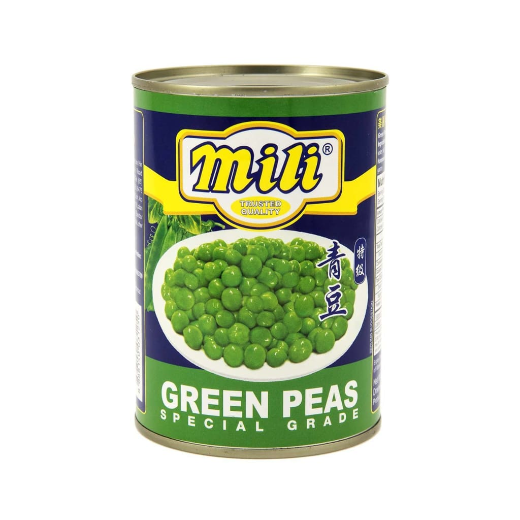 Green Peas - Mili 397G Canned Vegetable