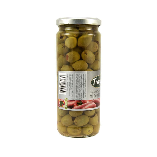 Green Stuffed Olive W/pimiento - Fragata 12X450Gm Pickles
