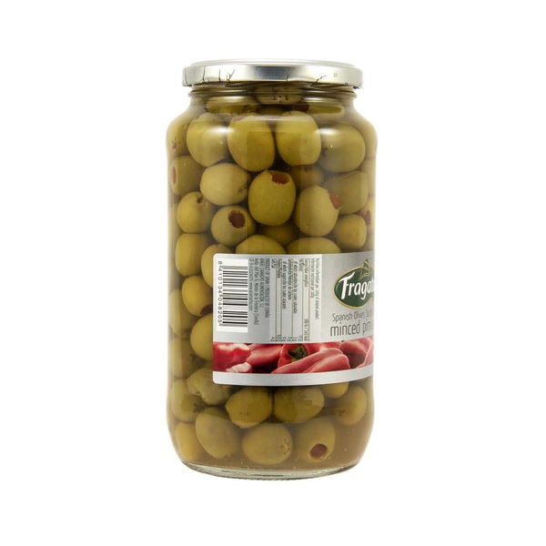 Green Stuffed Olive W/pimiento - Fragata 6X935Gm Pickles