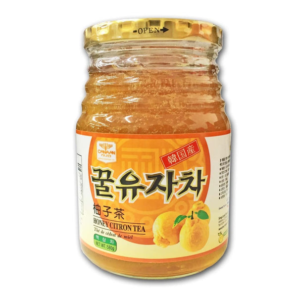 Honey Citron Tea Canaan 580G Juice Drink