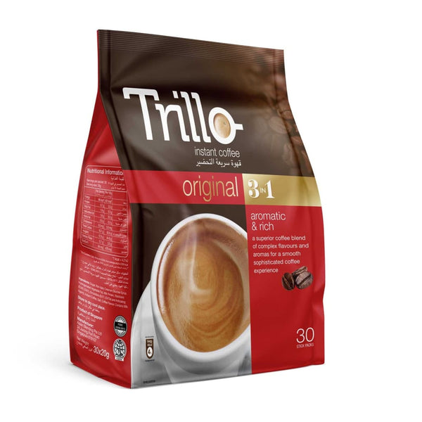 Instant Coffee Original 3-In-1 Pouch Trillo 24X(30Sx20G)