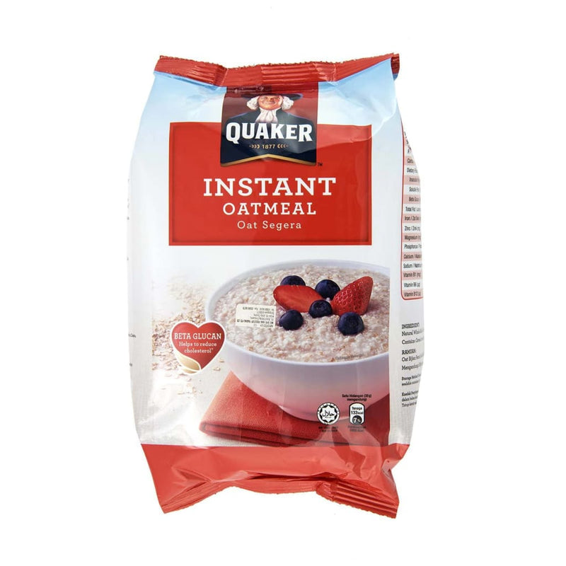 Instant Oat (Red Refill Pack) Quaker 800gm - LimSiangHuat