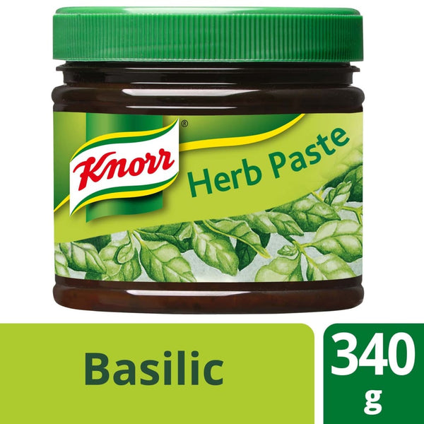 Knorr Basilic Herb Paste (2X340G) Salt/seasoning