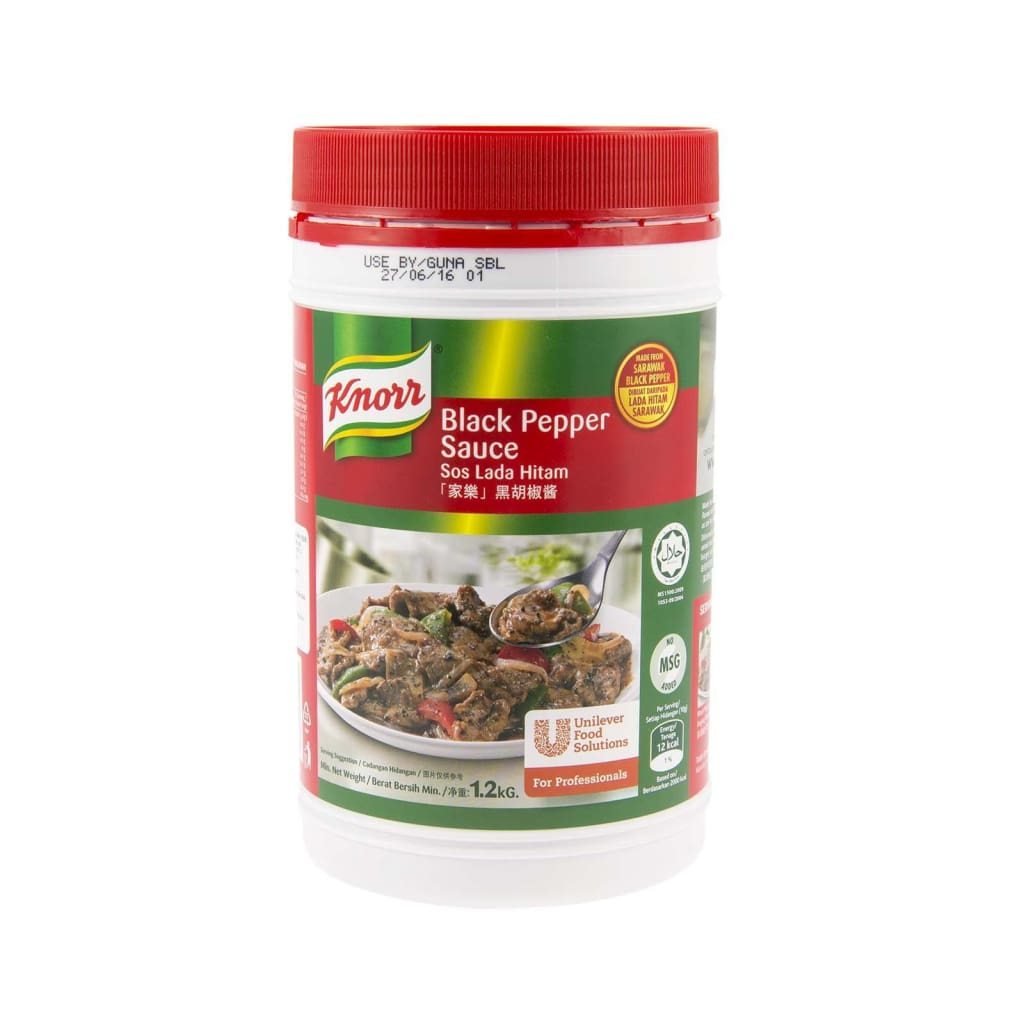 Knorr Black Pepper Sauce (6x1 2kg) | Product Type : Sauce