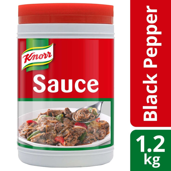 Knorr Black Pepper Sauce (6x1.2kg) - LimSiangHuat