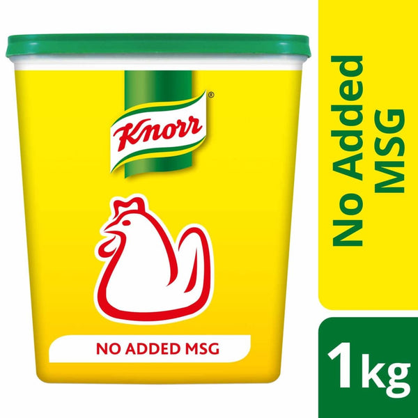 Knorr Chicken Seasoning Powder (No added MSG) (6x1kg) - LimSiangHuat