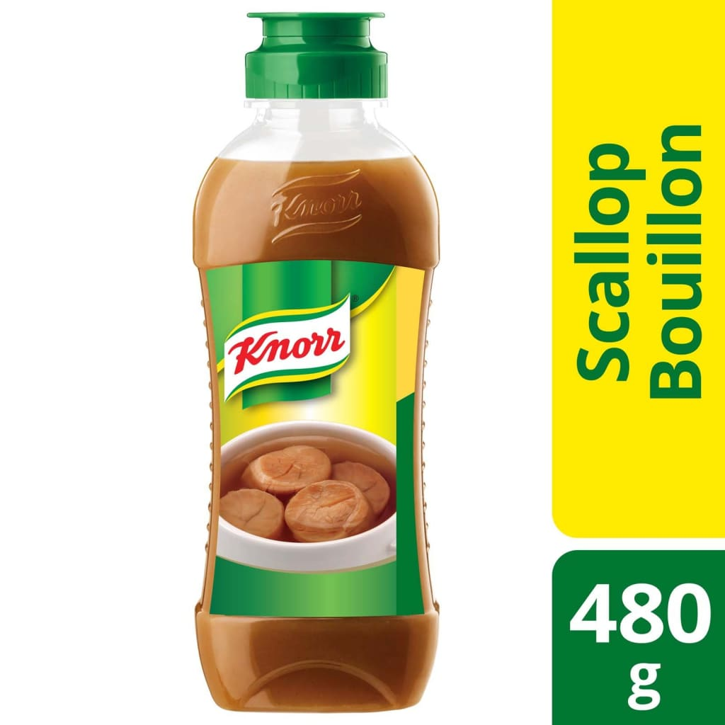Knorr Concentrated Scallop Bouillon (12X480G) Salt/seasoning