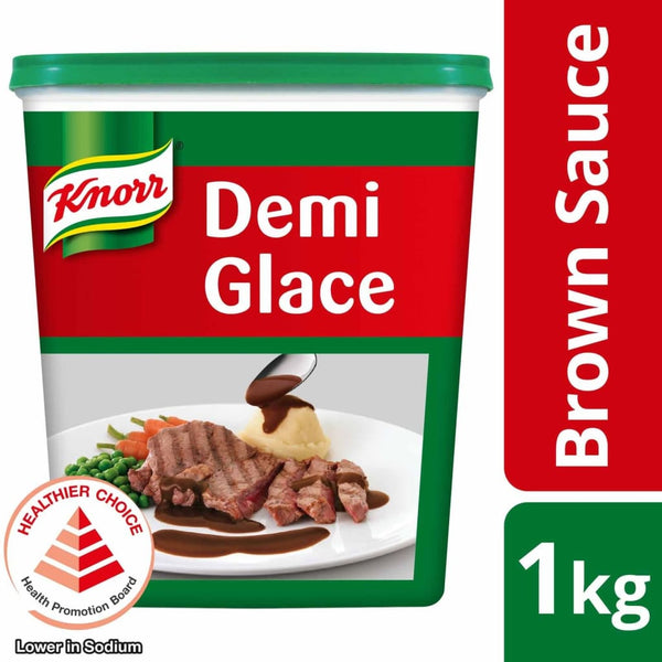 Knorr Demi Glace Brown Sauce (6X1Kg) Salt/seasoning