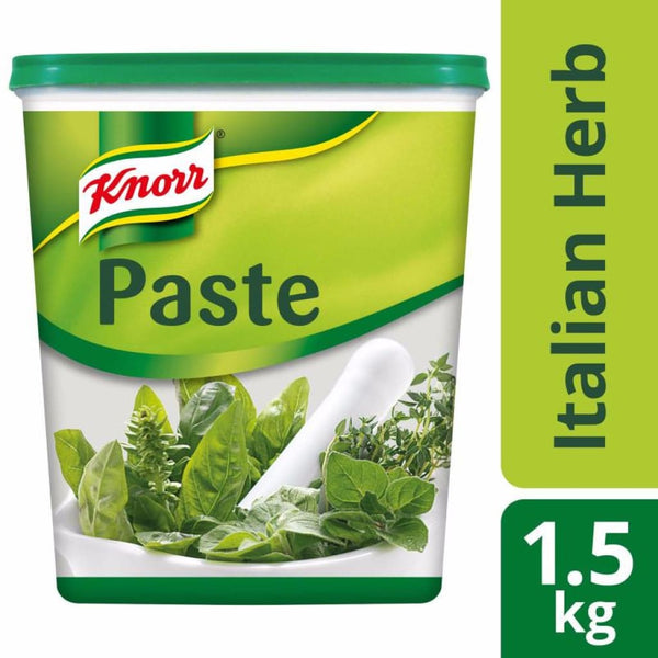 Knorr Italian Herb Paste (6X1.5Kg) Salt/seasoning