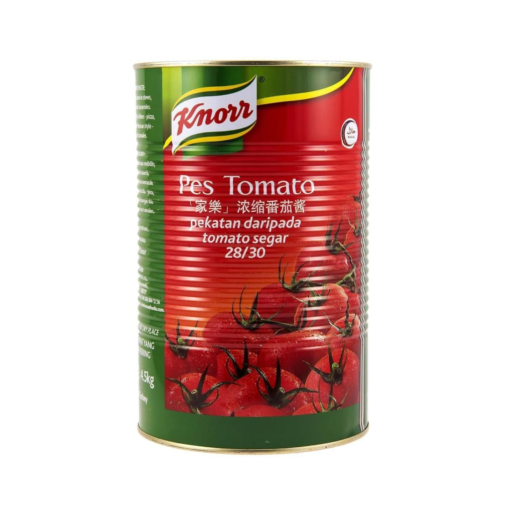 Knorr Tomato Paste (3x4.5kg) - LimSiangHuat