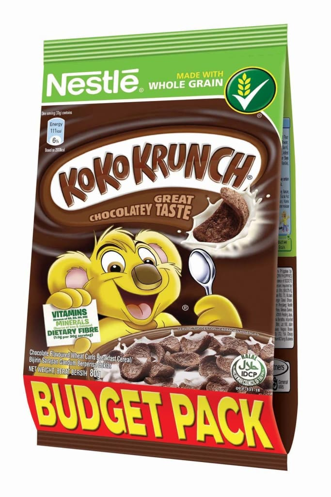 Koko Krunch Pouch -Nestle 24X80G Cereal