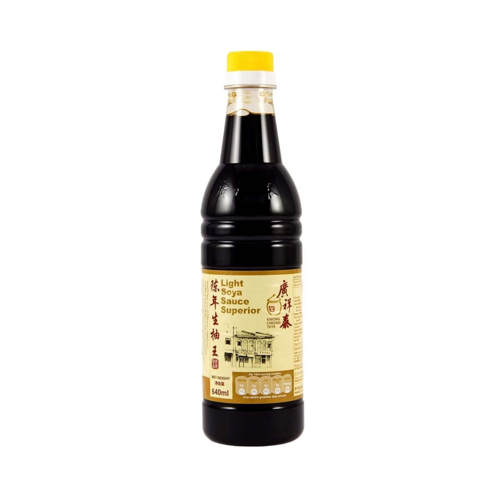 Light Soya Sauce (Chen Nian) 640Ml Kwong Cheong Thye Vinegar & Cooking Wine