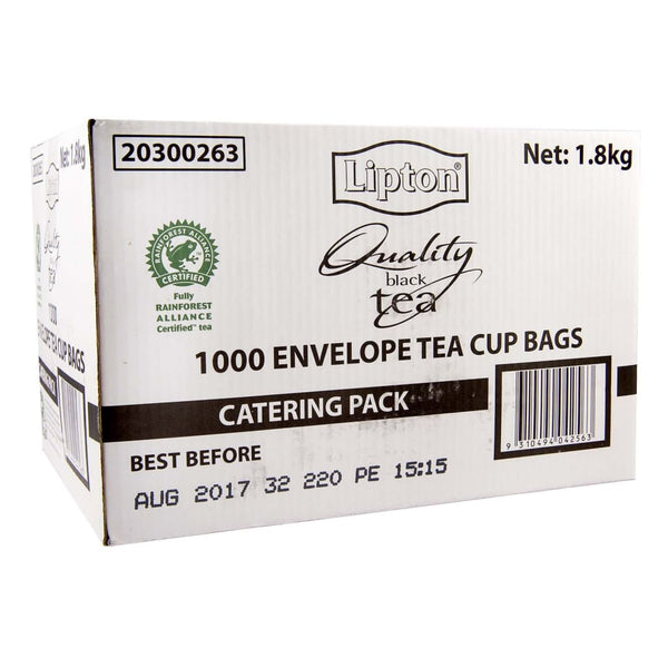 Lipton Envelope Tea Cup Bags Catering Pack (1000x1.8g) - LimSiangHuat