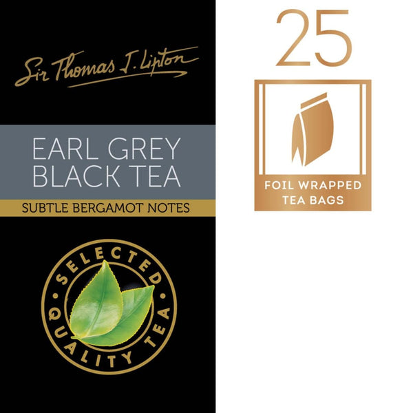 Lipton Sir Thomas Earl Grey 6X(25Sx2G) Tea