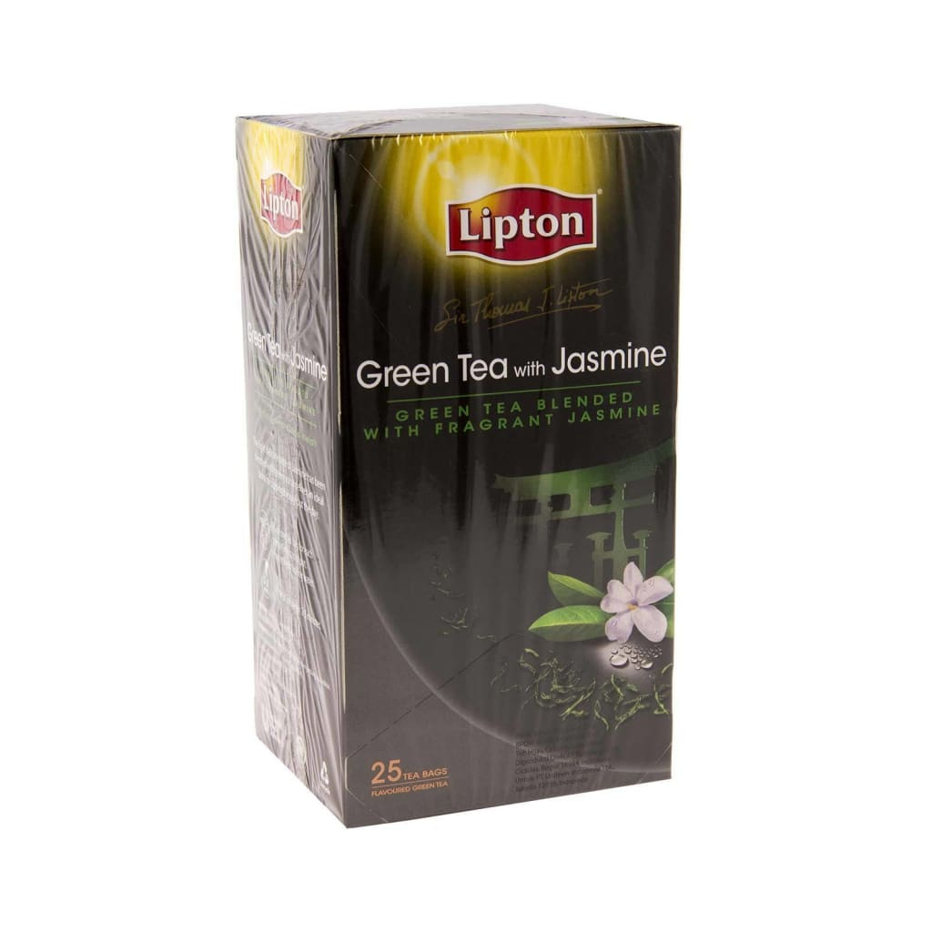 Lipton Sir Thomas Green Tea With Jasmine 6X(25Sx2G)