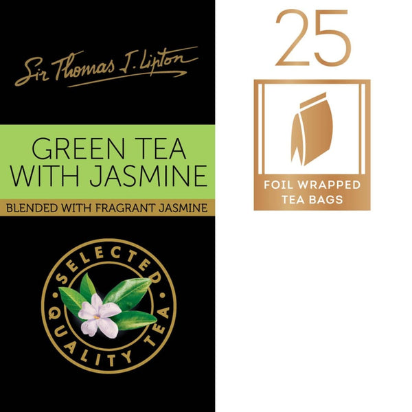 Lipton Sir Thomas Green Tea with Jasmine 6x(25sx2g) - LimSiangHuat