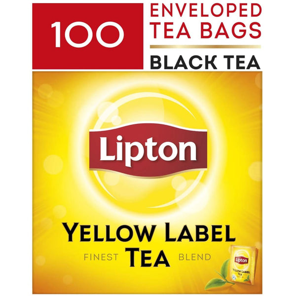 Lipton Yellow Label Tea Bag (Room Service) with Envelope 12x100s - LimSiangHuat