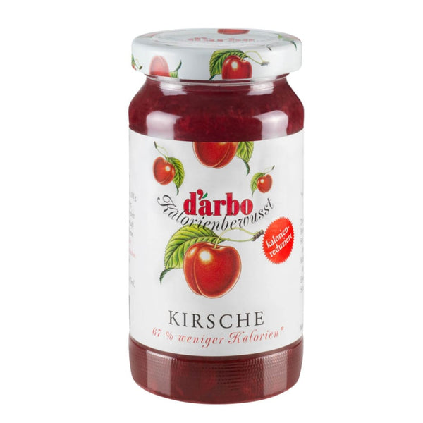 Low Calorie Cherry Fruit Spread Darbo 220G Jam