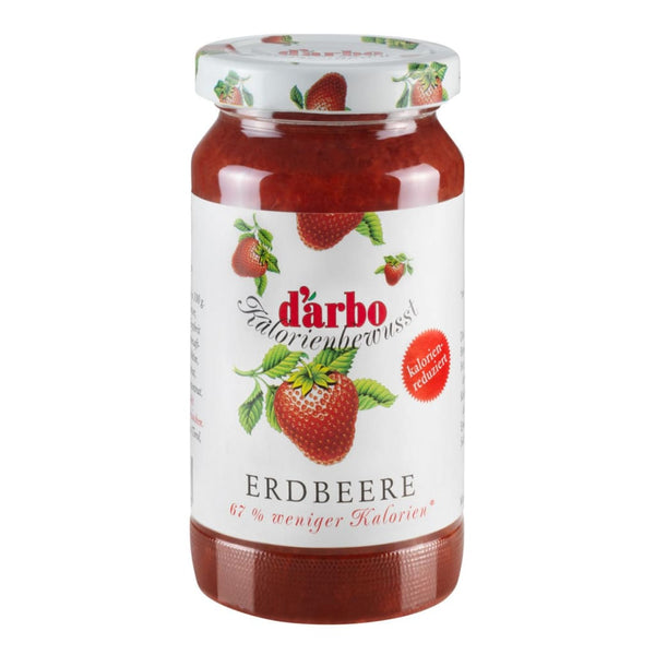 Low Calorie Strawberry Fruit Spread Darbo 220G Jam