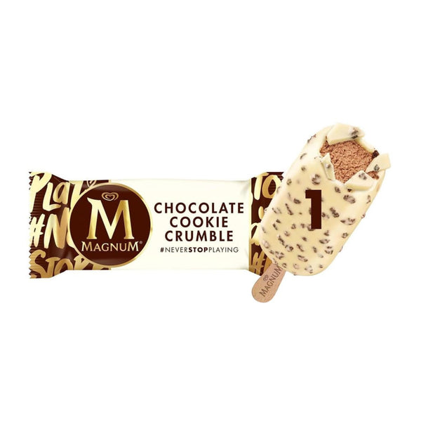 Magnum Chocolate Cookie Crumble Stick 20X100ml - LimSiangHuat