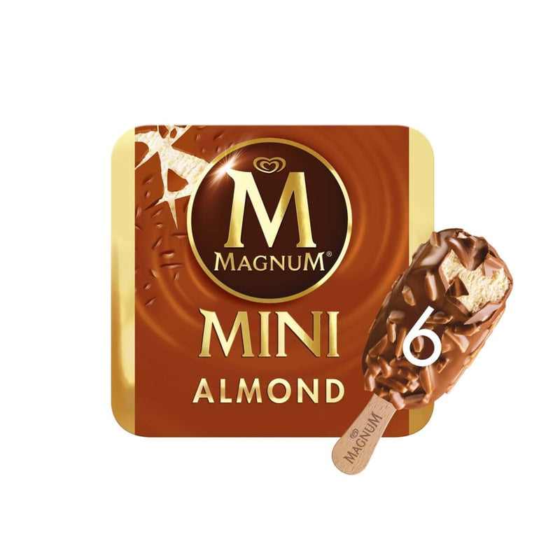 MAGNUM MINI ALMOND 25TH 6X(6X55ML) - LimSiangHuat