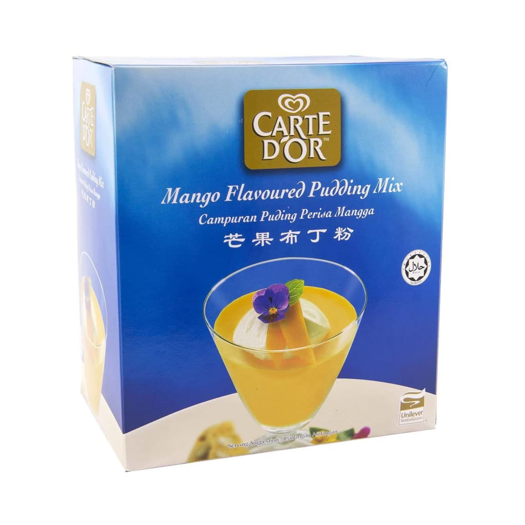 Mango Flavoured Pudding Mix Carte Dor 12 X 500G Miscellaneous