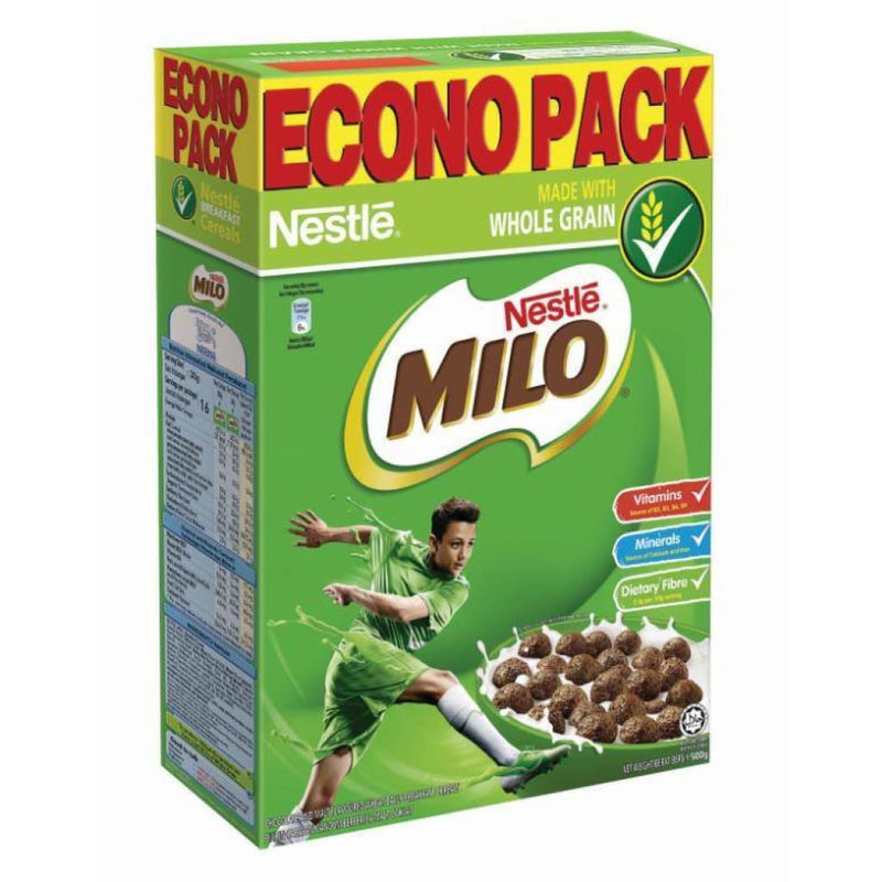 Milo Cereals Econo Pack Nestle 500g - LimSiangHuat