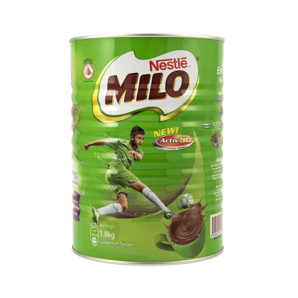 Milo (Tin) - Nestle 6X1.8Kg Choco & Nutritional Drinks