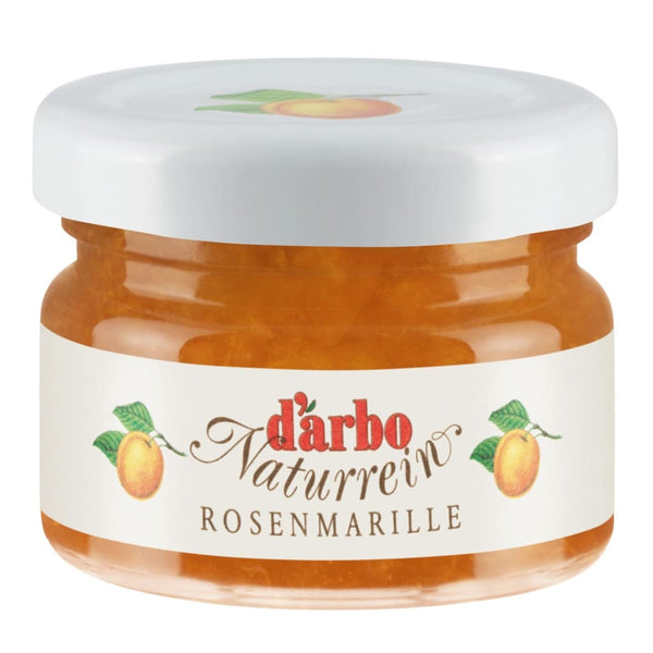 Mini Jar Apricot Fruit Spread Darbo 60X28G Jam