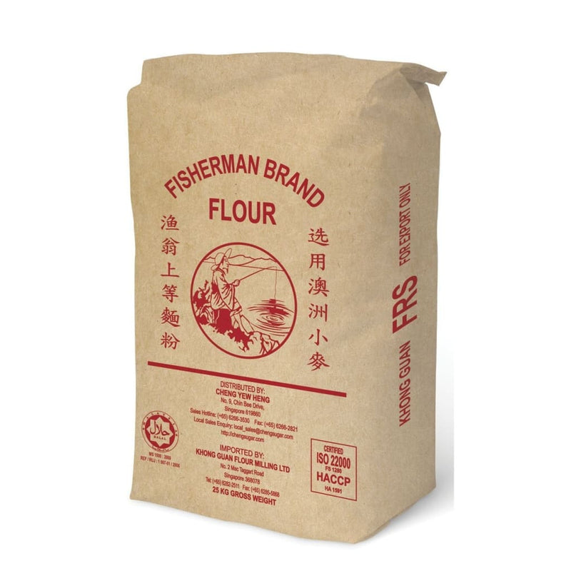 Pau Flour Red Fisherman (FRS) 25kg - LimSiangHuat