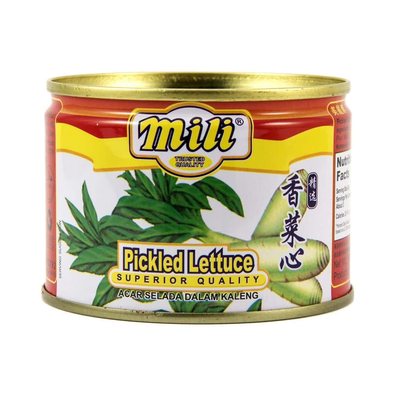Pickled Lettuce - Mili 48x180g - LimSiangHuat