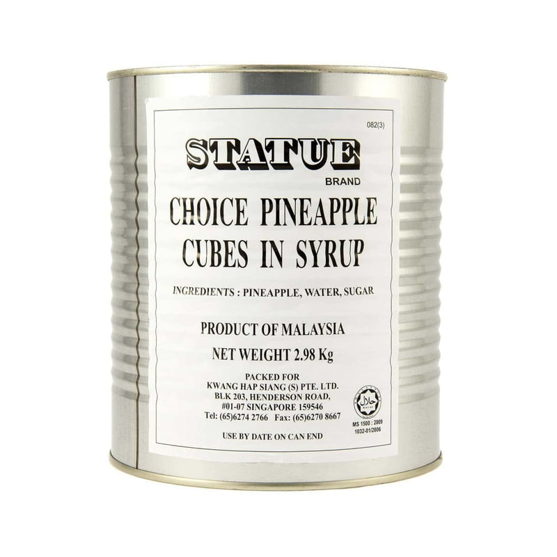 Pineapple Cubes in Syrup Statue (6x3kg) - LimSiangHuat