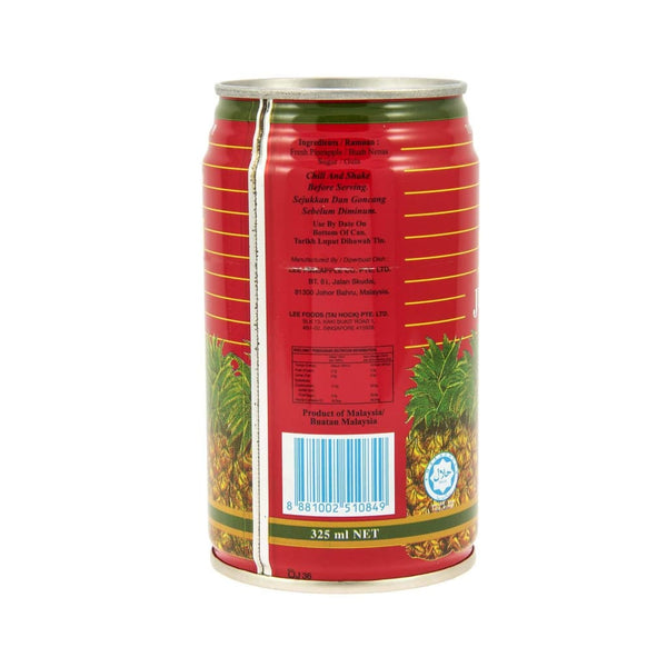 Pineapple Juice - Lee 24X325Ml Drink
