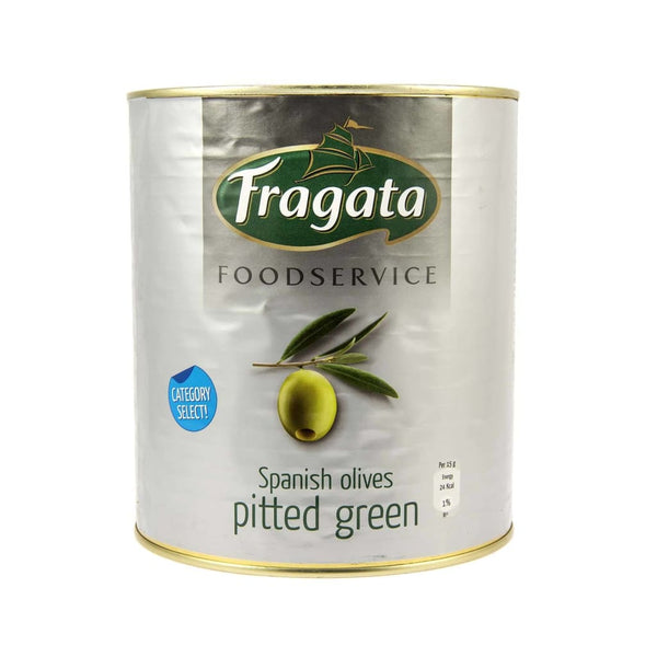 Pitted Green Olive - Fragata 6X3Kg Pickles