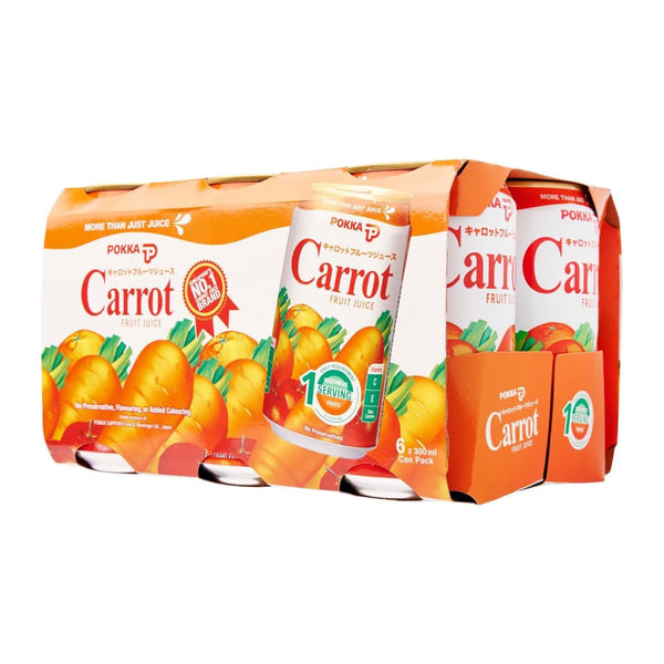Pokka Carrot Fruit Juice Drinks 24X300Ml Drink