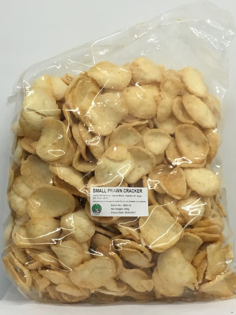 Prawn Cracker Small ready to eat 500gm/pkt - LimSiangHuat