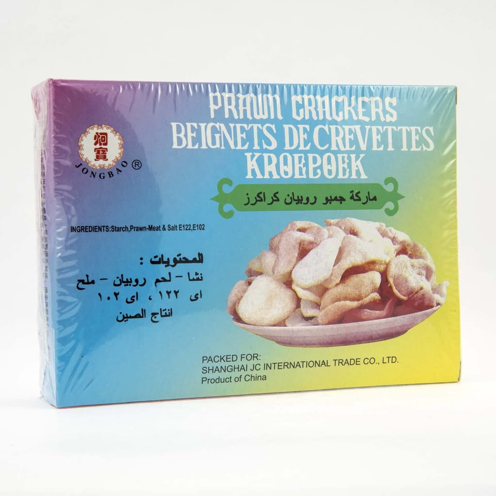 Prawn Crackers Jumbo/lobster -Dove 60X227G Dried Foods