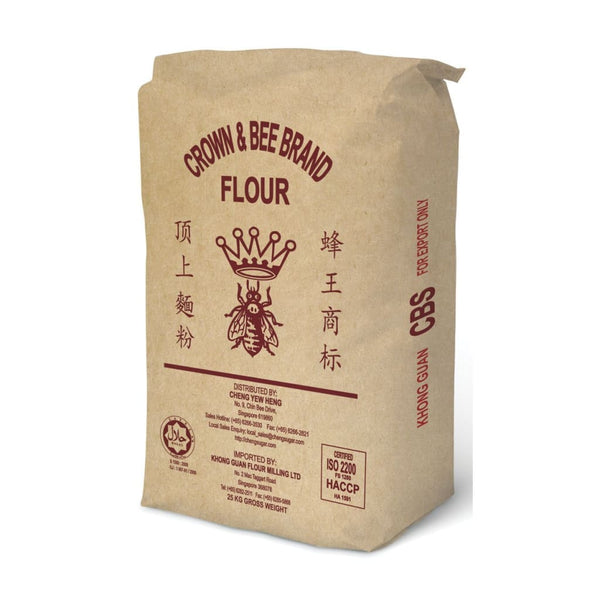 Premium Bread Flour Crown & Bee(S) (Cbs) 25Kg