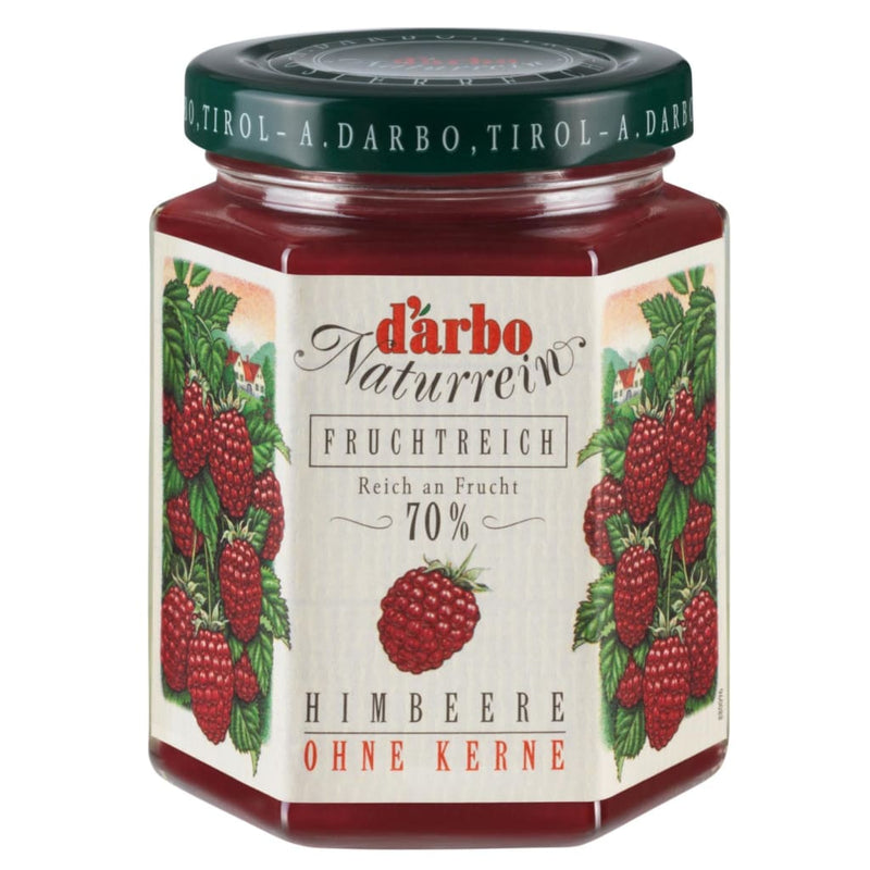 Raspberry Double Fruit Spread Darbo 200g - LimSiangHuat