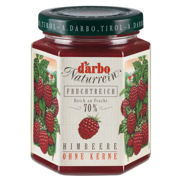 Raspberry Double Fruit Spread Darbo 200G Jam