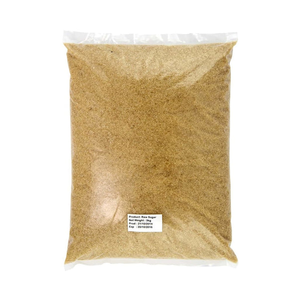 Raw Sugar - Sis 3Kg & Substitutes
