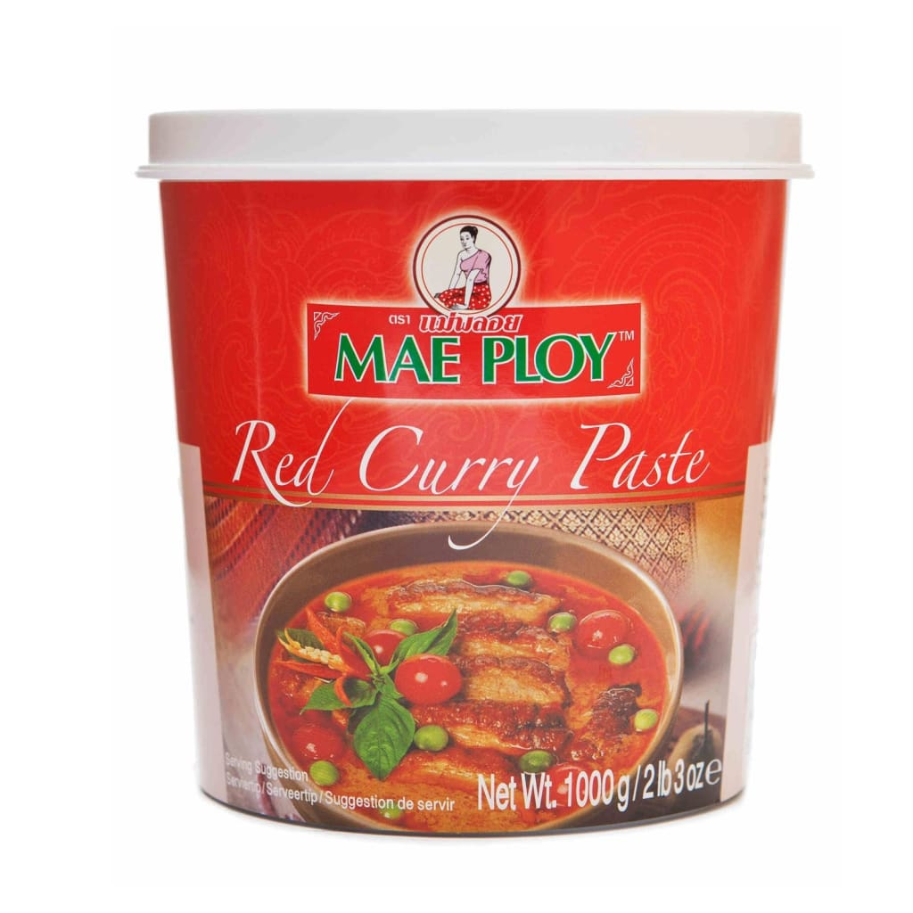 Red Curry Paste Mae Ploy 1Kg Sauce