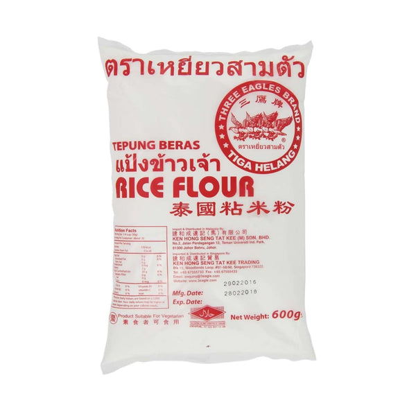 Rice Flour 3 Eagles 600G