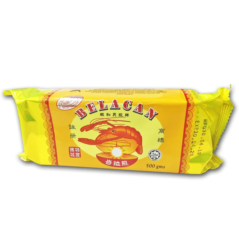 Shrimp Paste (Yellow Wrapper) Belachan 480gm - LimSiangHuat