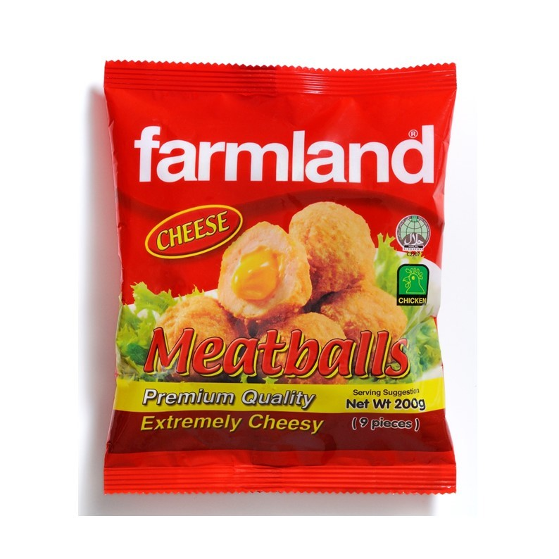 Farmland Chix Meat Ball  Cheese 24 x 200g