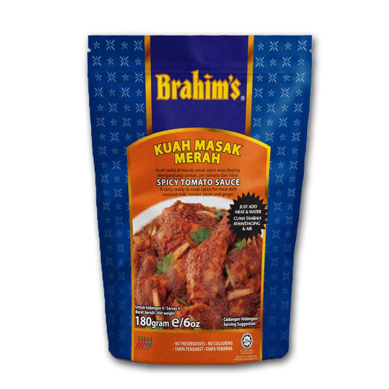 Spicy Tomato Sauce Brahim's 180gm - LimSiangHuat