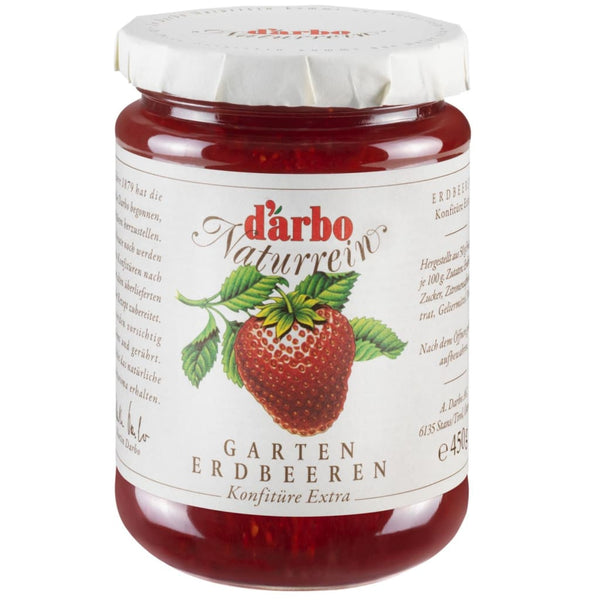 Strawberry Preserve Darbo 450G Jam